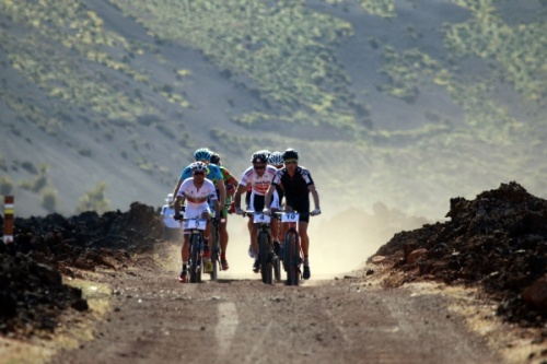 Club La Santa 4 Stage Mountain Bike MTB Race Day 1 Lanzarote 04-02-2017