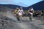 Club La Santa 4 Stage Mountain Bike MTB Race Day 2 Lanzarote 05-02-2017