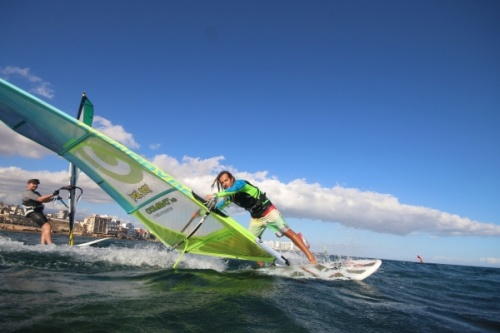 Freestyle 3style windsurfing in El Medano Tenerife SurfMedano 09-10-2018