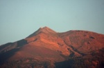 Pico del TEIDE during sunrise 16-01-2012
