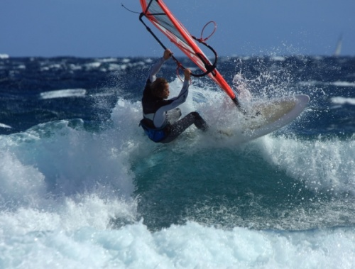 Starboard KODE 2014 prototype tested by Dany Bruch G-1181 and filmed by Mark Shinn at El Canezo in El Medano 30-11-2012