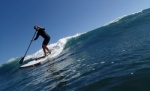 SUP and surfing at Playa Cabezo in El Medano Tenerife 17-02-2014