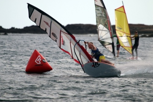 TWS Windsurf Pro Slalom Training 08-01-2016