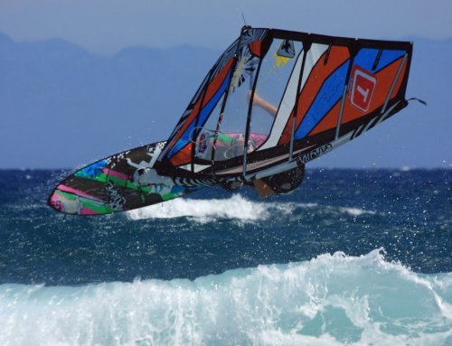Carnival windsurfing in El Cabezo