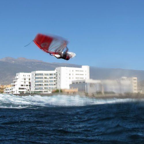 Windsurfing in El Medano