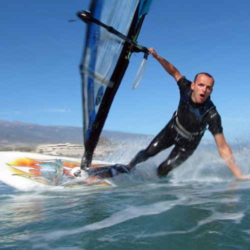 Windsurfing and kitesurfing in El Medano and El Cabezo Tenerife