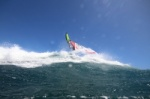 Wave windsurfing at El Cabezo in El Medano 21-03-2018