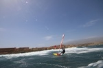 Wave windsurfing at El Cabezo in El Medano 31-03-2017