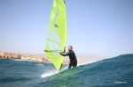Wave windsurfing at El Cabezo in El Medano Tenerife 08-03-2020