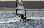 Windsurfing - Harbour Wall 03-02-2012