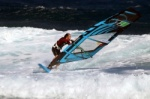 Windsurfing at El Cabezo in El Medano 22-03-2014 with Maciek Rutkowski MR23, Mark Hosegood, Valter Scotto and Nico Akgazciyan F400