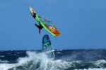 Windsurfing at El Cabezo in El Medano 23-03-2014 with Alex Mussolini and Carlito Spunti