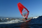 Windsurfing at Harbour Wall  Muelle in El Medano Tenerife 11-02-2014 with Ross Williams, Mark Sparky Hosegood and Adam Lewis