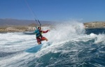 Windsurfing at Playa Cabezo in El Medano Tenerife 26-02-2014 with Alex Mussolini, Dany Bruch, Javi Aixa, Mark Hosegood, Adam Lewis  and Sandro