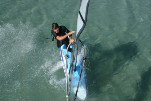 Windsurfing freestyle Vulcano