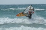 Windsurfing front loop