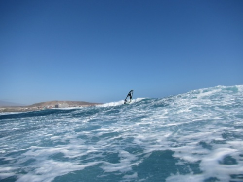 Windsurfing in El Medano and El Cabezo Tenerife 23-01-2013