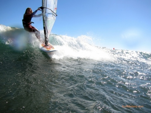 Windsurfing in El Medano and El Cabezo Tenerife 28-01-2013