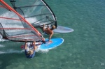 Windsurfing race