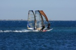 Windsurfing speed and race sailing