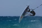 Windsurfing wave wipe outs