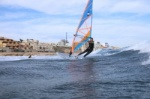 Windsurfing with TWS Tenerife Windsurfing Solution at Playa Sur in El Medano 09-12-2014
